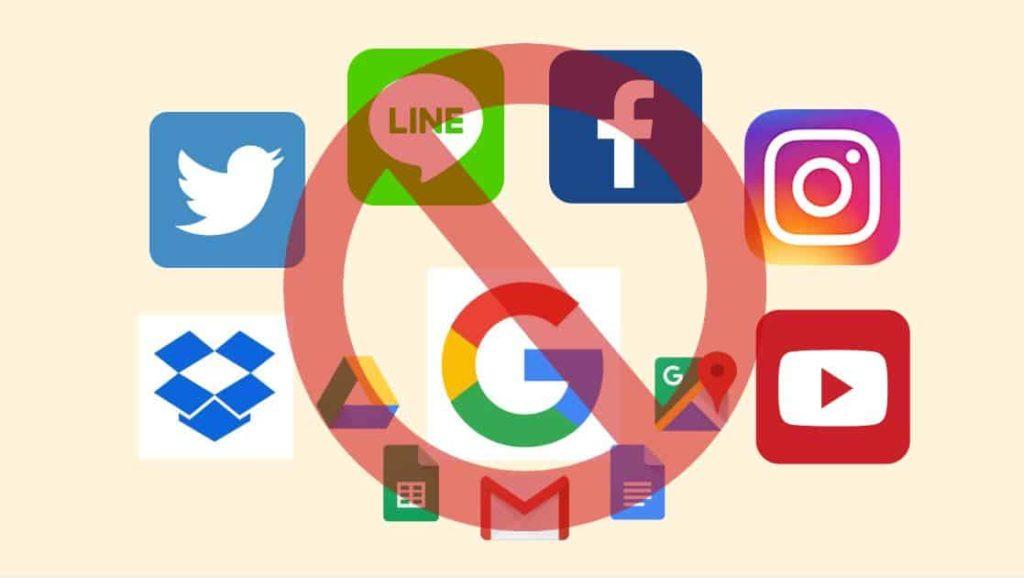 中国のインターネット規制