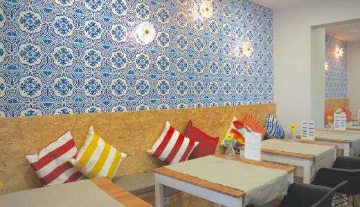 アヴェイロの超オススメホテル!アズレージョで彩られた併設カフェがオシャレ♡