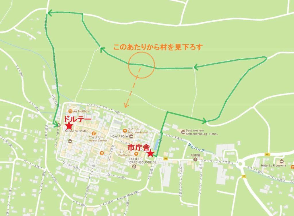 リクヴィル広域MAP