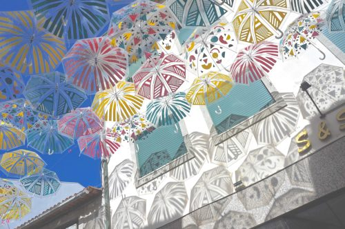 アゲダ Umbrella Sky Project