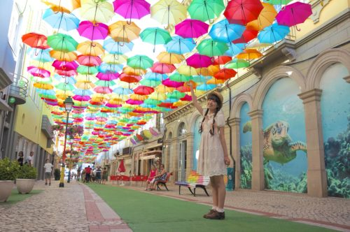 アゲダ Umbrella Sky Project 服装