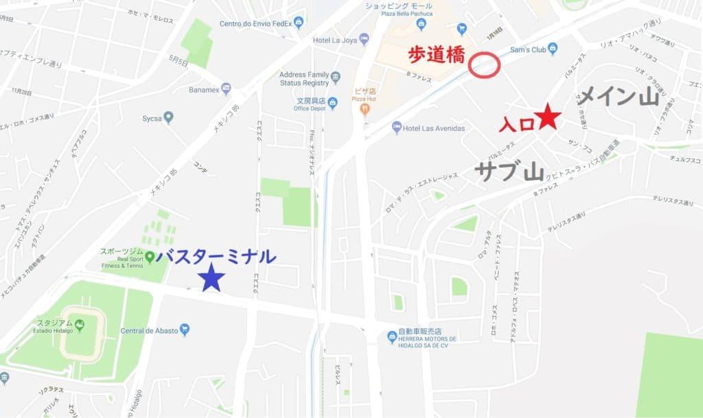 パルミタス地図(広域)