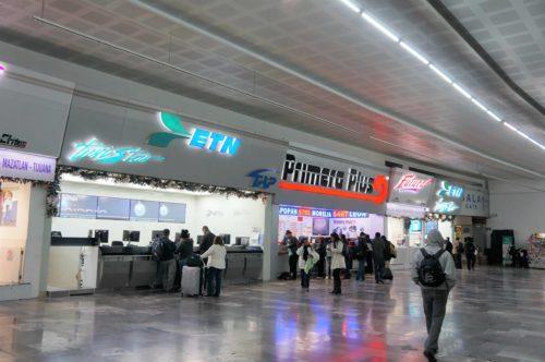 メキシコシティ北方面バスターミナル