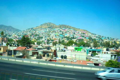 メキシコシティからパチューカ