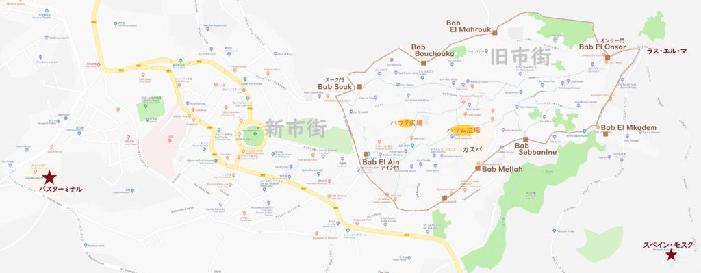 シャウエン地図(広域)
