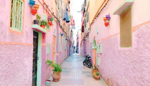 色に溢れた迷宮都市!モロッコのカサブランカ観光におすすめなカラフルタウン♡