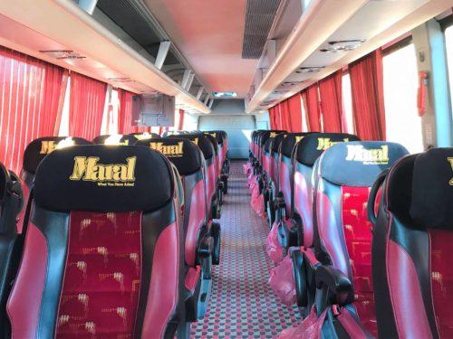 イラン VIPバス