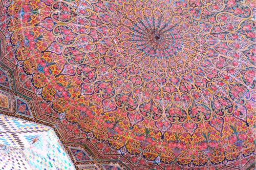 イラン ピンクモスク  Nasir ol Molk Mosque