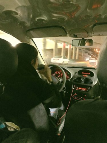 イラン 夜のドライブ