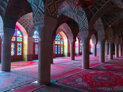イラン ピンクモスク  7:00