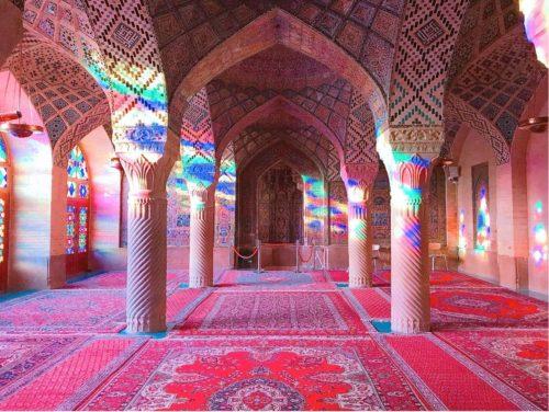 イラン ピンクモスク  7:30