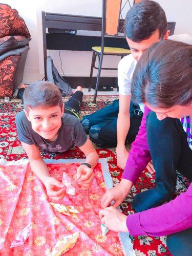 イラン 折り紙