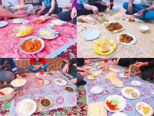 イラン 食事スタイル