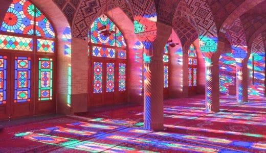 """イランが誇る光の芸術!シーラーズの「ピンクモスク」が色彩溢れる""""絶景""""だった"""