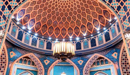 世界一美しいスタバ / イブンバトゥータモール / ドバイの写真素材