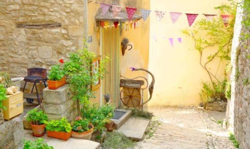 フランス ソー村の可愛いB&B