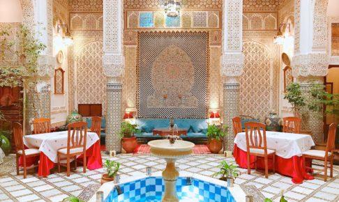 モロッコ フェズのリヤド