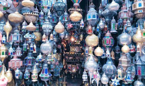 モロッコ マラケシュ ランプ