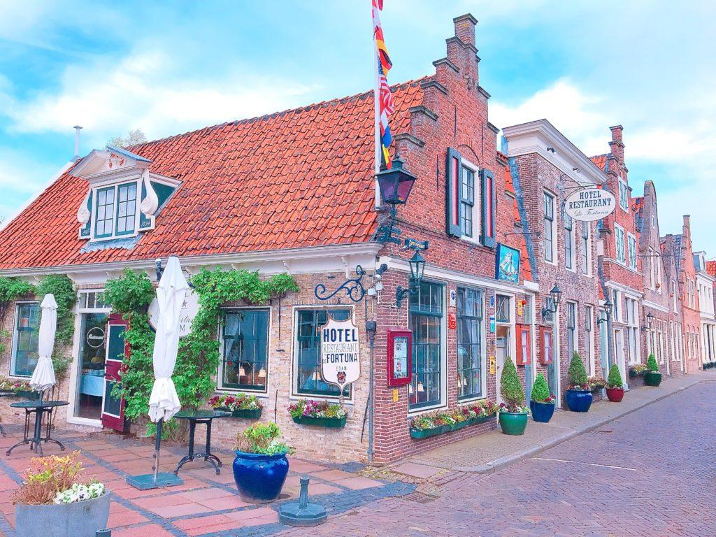 オランダ エダムのオシャレなホテル