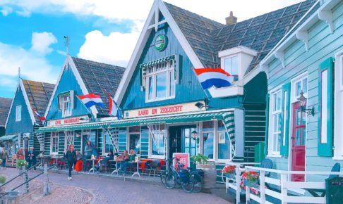 オランダ マルケン島の港