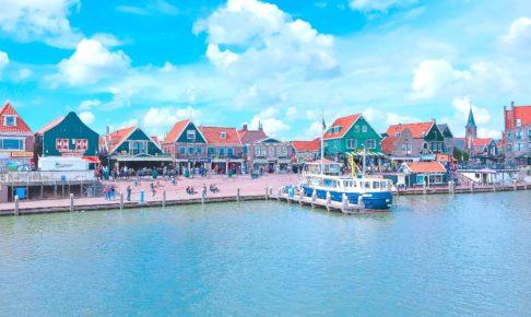 オランダ フォーレンダムの港