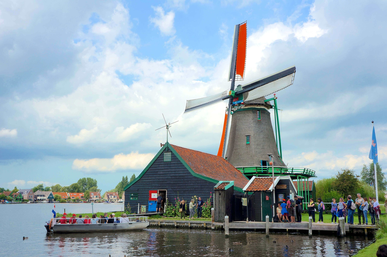 オランダ ザーンセスカンスの風車