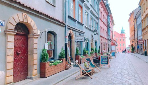 Piwna通り / ワルシャワ / ポーランドの写真素材