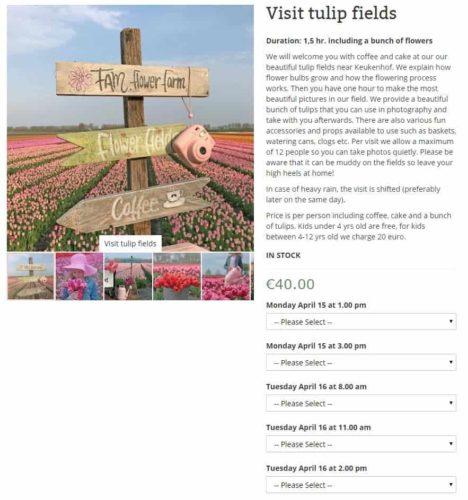 FAM Flower farm 予約