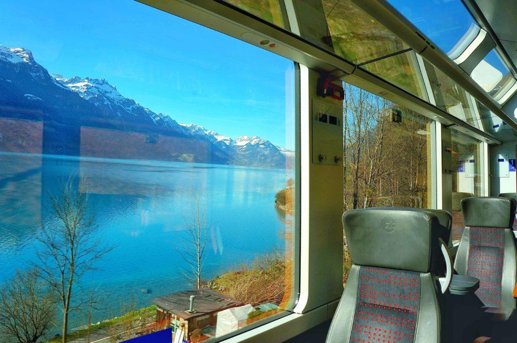 ヨーロッパ鉄道 車窓