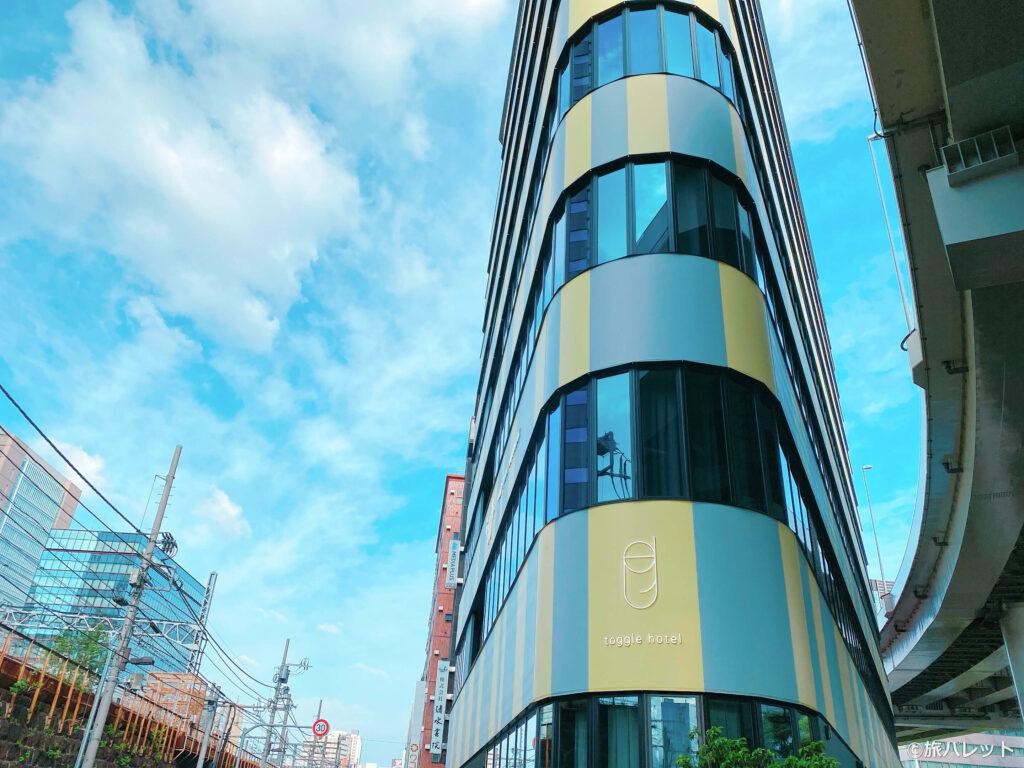 toggle hotel suidobashi 外観